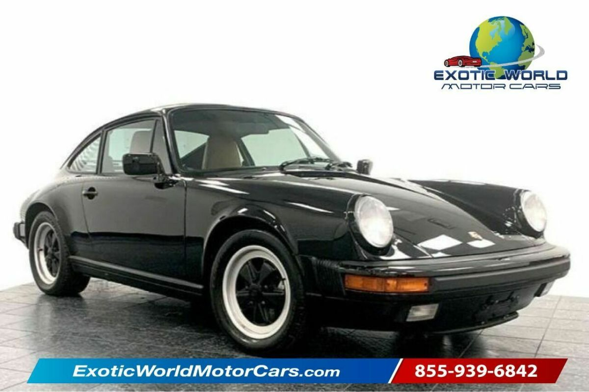 1988 Porsche 911 Carrera 2dr Coupe