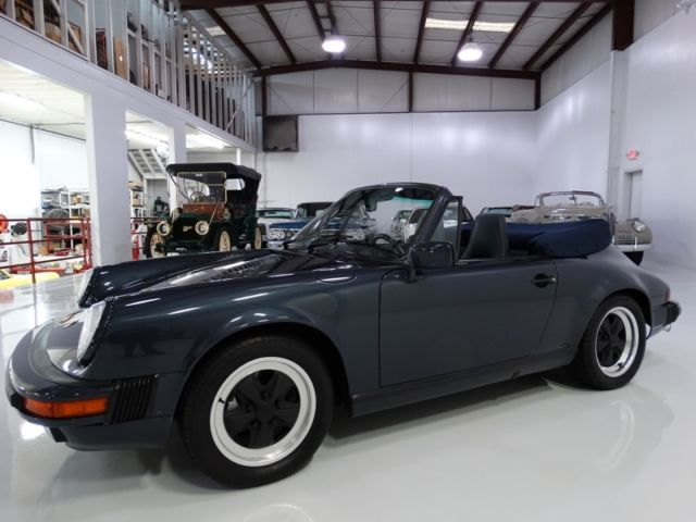 1988 Porsche 911 Cabriolet, ONLY 63,414 CAREFULLY-DRIVEN MILES!