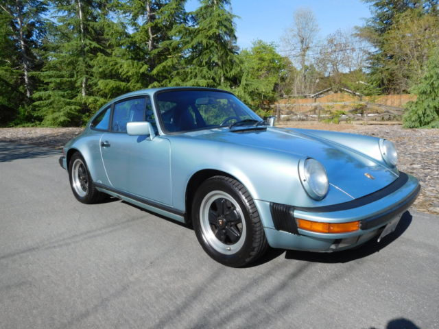 1988 porsche 911 carrera coupe 3 2 g 50 trans 20 yr ownership history for sale photos. Black Bedroom Furniture Sets. Home Design Ideas