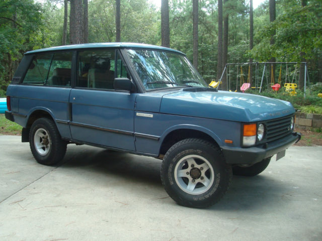 1988 range rover classic 2 door all manual options turbo diesel 5 speed solid for sale photos. Black Bedroom Furniture Sets. Home Design Ideas