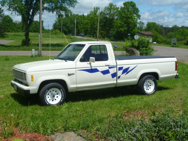 1988 Ranger Xlt 2 Wheel Drive 5 S D  Cylinder Pickup Truck Midsize
