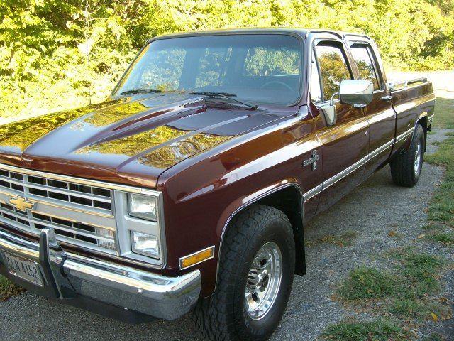 1988 Rare Crew Cab Chevy Silverado For Sale Photos Technical