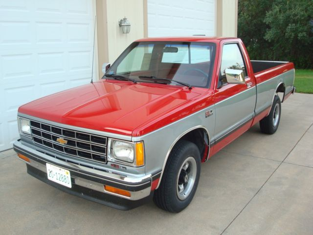 1988 s10 pickup tahoe package 37k miles no rust excellent condition 4 3 v6 auto for sale photos. Black Bedroom Furniture Sets. Home Design Ideas