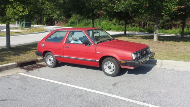 1988 Subaru Gl Hatch  Carb  2wd Georgia For Sale  Photos