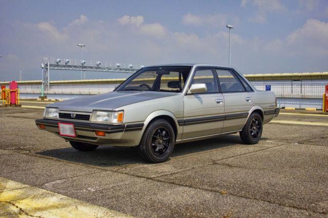 1988 Subaru Leone Maia Manual Jdm Import Rhd Free Ro Ro