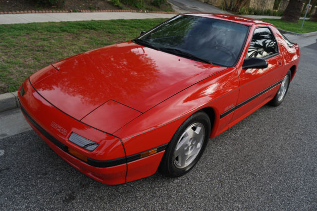 1988 Mazda RX-7 RX7 SUNROOF COUPE WITH 40K ORIGINAL MILES!
