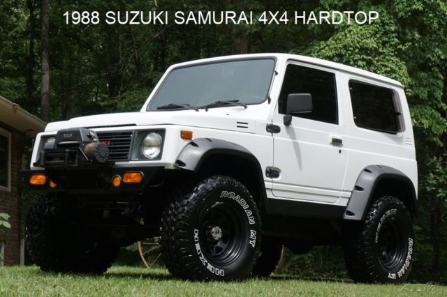 1988 Suzuki Samurai MUST SEE ONE OF A KIND SAMURAI TIN TOP NO RESERVE