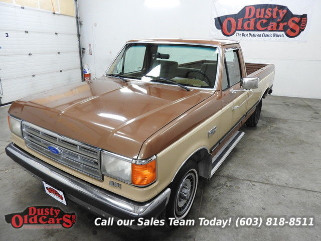 1988 Ford F-150 Runs Drives Body Int VGood XLT 4.9L I6 Auto