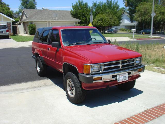 1988 toyota 4runner ca truck 1986 1987 1989 for sale. Black Bedroom Furniture Sets. Home Design Ideas