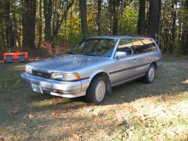 1988 Toyota Camry LE Wagon