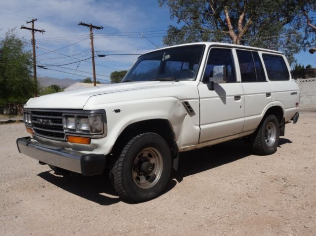 1988 Toyota Land Cruiser 4x4 rust FREE Arizona truck FJ60 AC