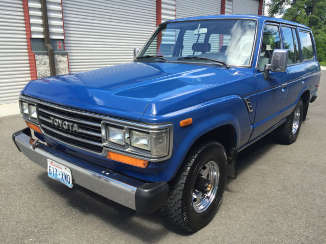 1988 toyota land cruiser fj62 rust free excellent condition no reserve for sale photos. Black Bedroom Furniture Sets. Home Design Ideas