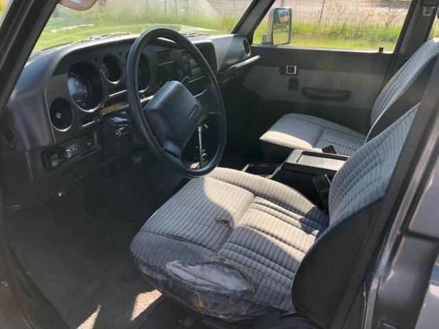 1988 Toyota Landcruiser FJ62 3F-EFI 4WD NO RESERVE Land Cruiser FJ60