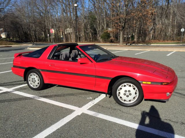 1988 toyota supra base 96k original miles targa top hatchback 2 door 3 0l carfax for sale. Black Bedroom Furniture Sets. Home Design Ideas