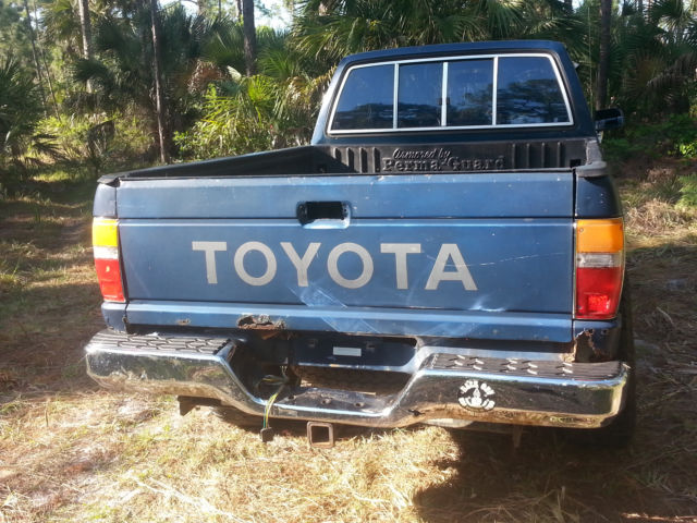 1988 Toyota Xtra Cab 4x4 Pickup Truck For Sale Photos