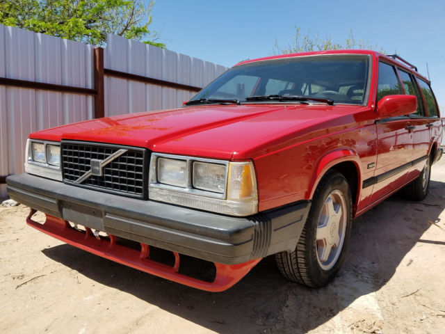 1988 Volvo 740 Wagon Chevy V8 LT1 Conversion Camaro Z28 for sale