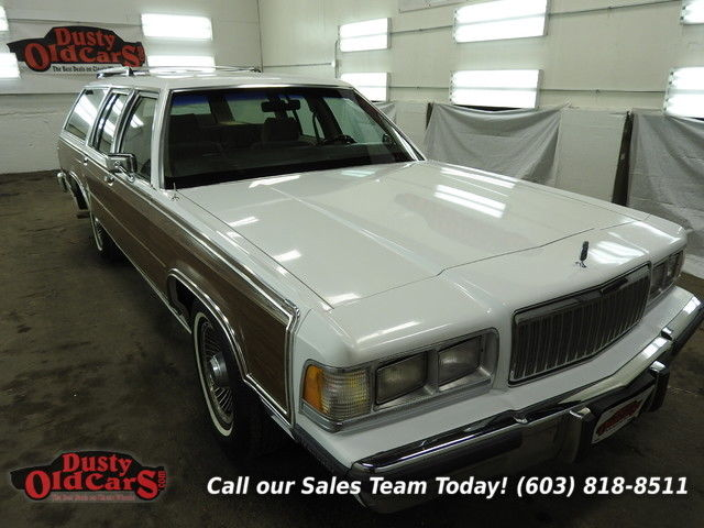 1988 Mercury Grand Marquis Colony Park LS Runs Drives VGood