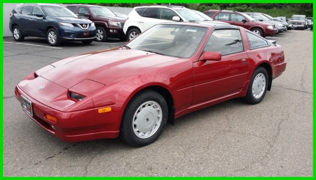1989 Nissan 300ZX 2dr Hatchback Coupe GLL 5-Spd Leather Heated Seats