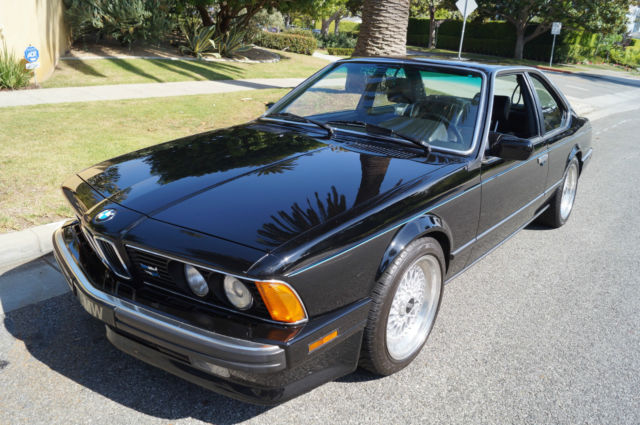 1989 BMW 6-Series 635CSi 5 SPD MANUAL COUPE WITH 81K ORIG MILES!