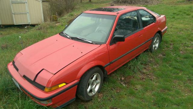 1989 Acura Integra LS Hatchback 3Door 16L stick shift manual 2