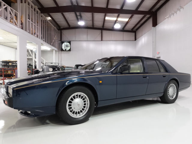 1989 Aston Martin Lagonda Lagonda Series IV, One of 72 with LHD