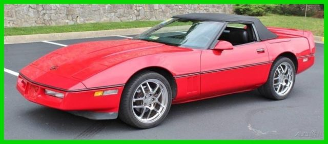 1989 Chevrolet Corvette Base 2dr Convertible