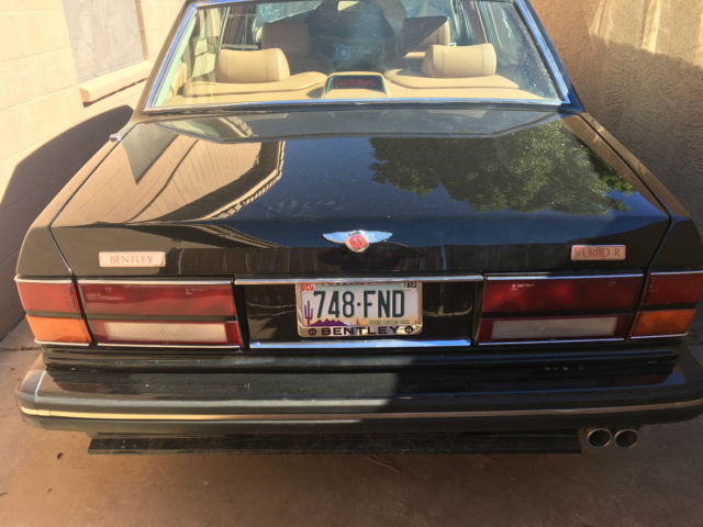 1989 Bentley Turbo R Enter item specific valued