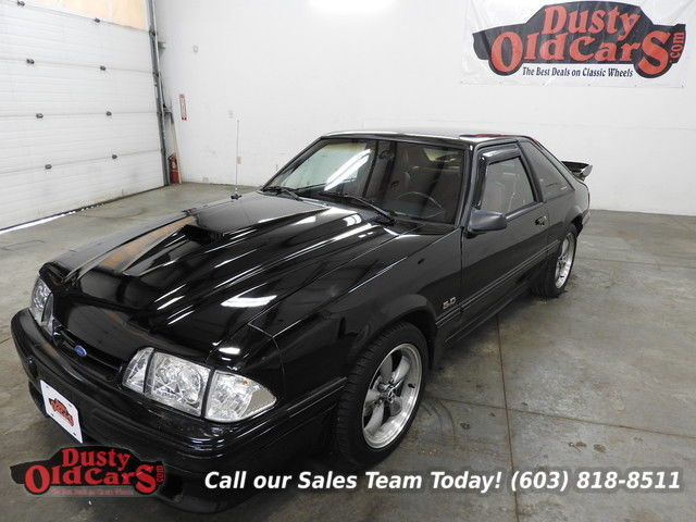 1989 Ford Mustang LX Sport Runs Sounds Great Body Inter VGood