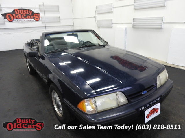 1989 Ford Mustang LX Sport Runs Drives VGood 5.LV8 5 spd