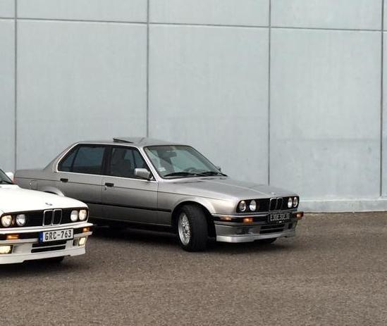 1989 BMW 325i Base Sedan 4-Door 2.5L Lachssilber 100