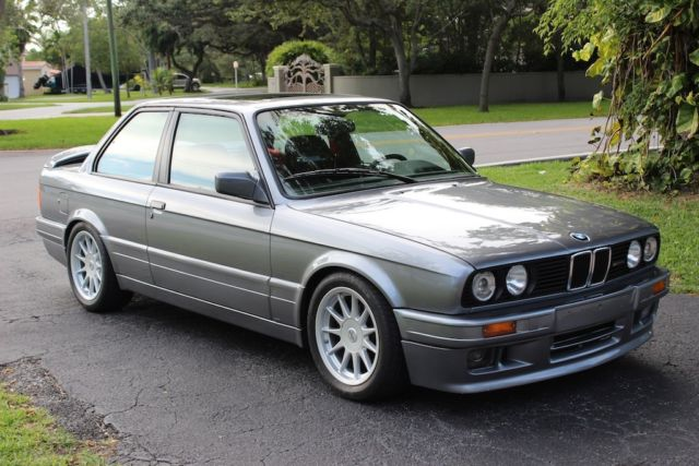 1989 BMW 3-Series 325is with M TECHNIC II kit & HARTGE accessories
