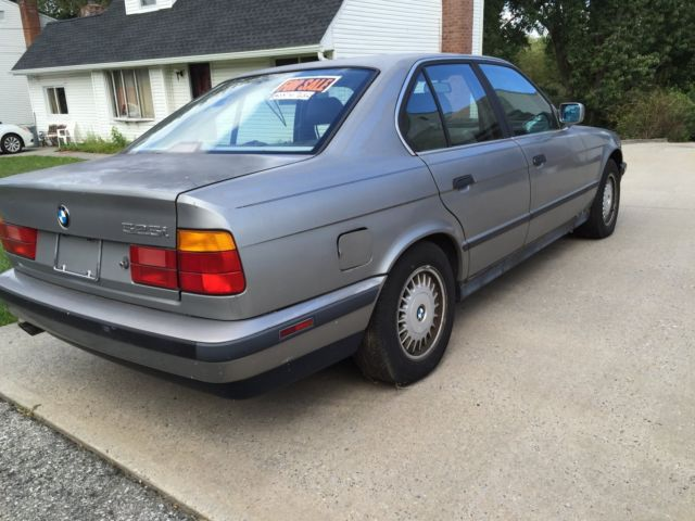 1989 Bmw 525i Project Car For Sale Photos Technical