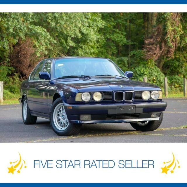 1989 BMW 5-Series 535i L6 Automatic Serviced Collectible E34 Carfax!