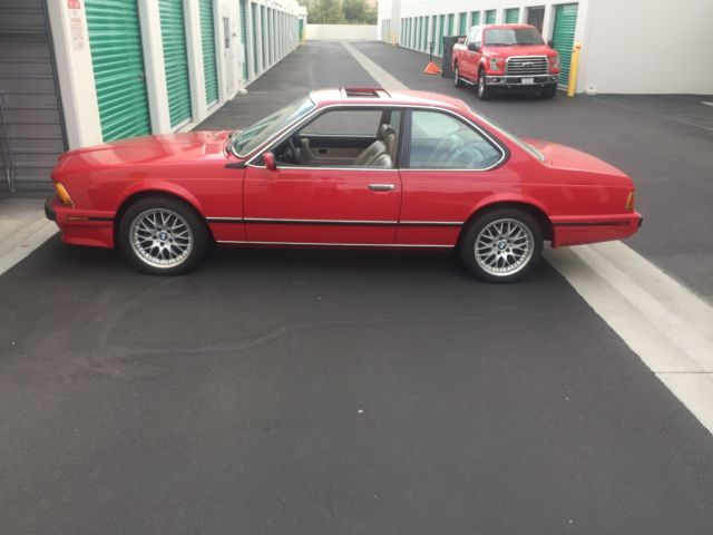 1989 BMW 6-Series Loaded with all options