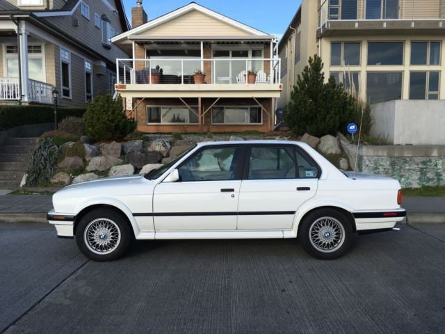1989 BMW E30 325iX AWD 4Door Sedan Automatic Second Owner All