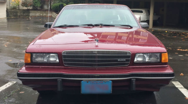 1989 Buick Century Limited Sedan 4-Door