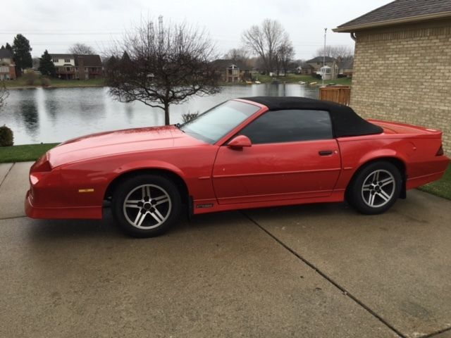 1989 Chevrolet Camaro RS CONVERTIBLE