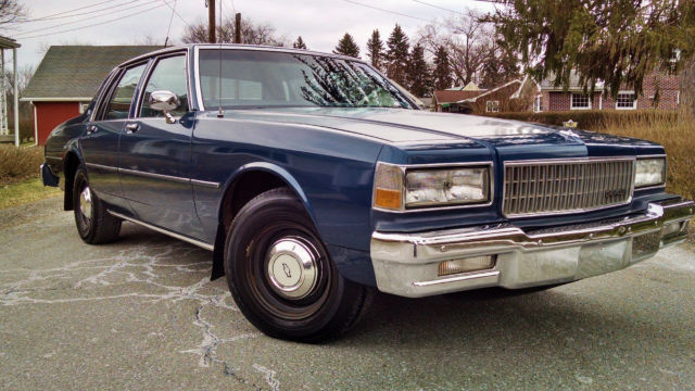 1989 chevrolet caprice 9c1 police package all original w 350 fuel injected v8 for sale photos technical specifications description topclassiccarsforsale com