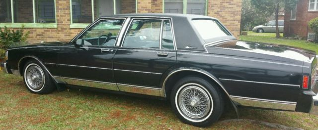 1989 chevrolet caprice brougham for sale photos. Black Bedroom Furniture Sets. Home Design Ideas