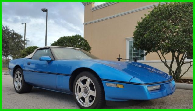 1989 Chevrolet Corvette CONVERTIBLE CLEAN CARFAX ONE OWNER NO RESERVE!!