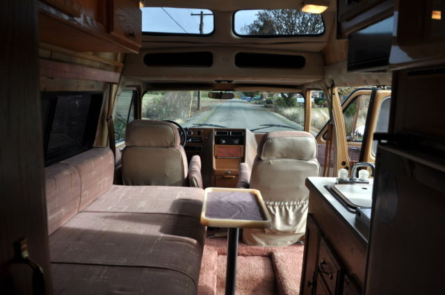 Chevy Astro Conversion Van For Sale 1989 Chevrolet G20 Falcon Intervec 4x4 Motorhome Camper ...