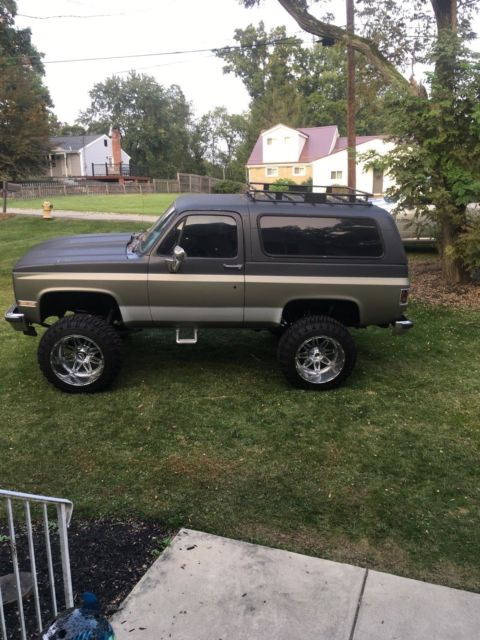 1989 Chevrolet K5 Blazer 4x4 Lifted 383 Stroker For Sale Photos