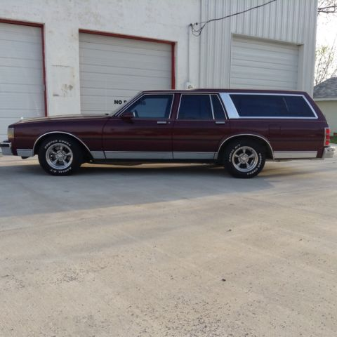 1989 chevy caprice station wagon hot rat rod classic for sale photos technical specifications. Black Bedroom Furniture Sets. Home Design Ideas
