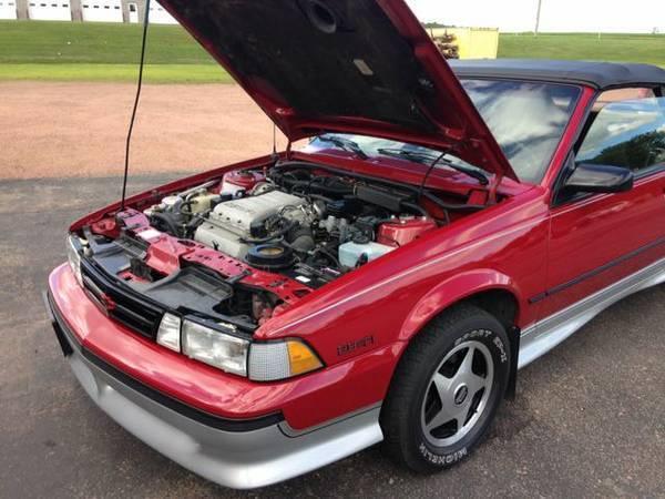 1989 Chevy Cavalier Z24 Convertible Original No Rust for sale