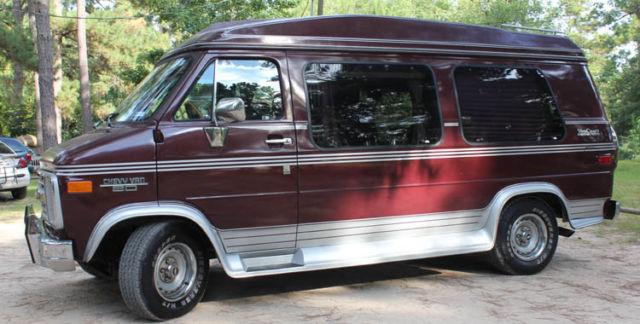1989 chevy conversion van