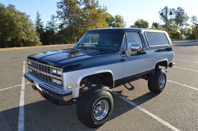 1989 chevy k 5 blazer original california rust free truck pro comp 6 lift for sale photos. Black Bedroom Furniture Sets. Home Design Ideas