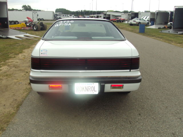1989 Chrysler Lebaron 2 5 Turbo Automatic Class Legal Drag