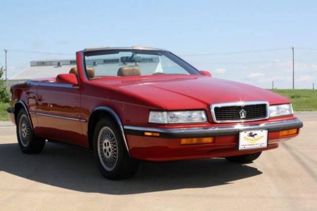 1989 Chrysler Other Maserati TC
