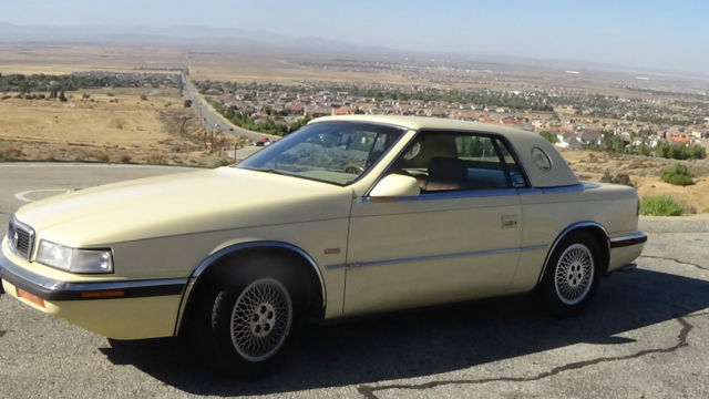 1989 Chrysler Chrysler TC by maserate convertable hardtop