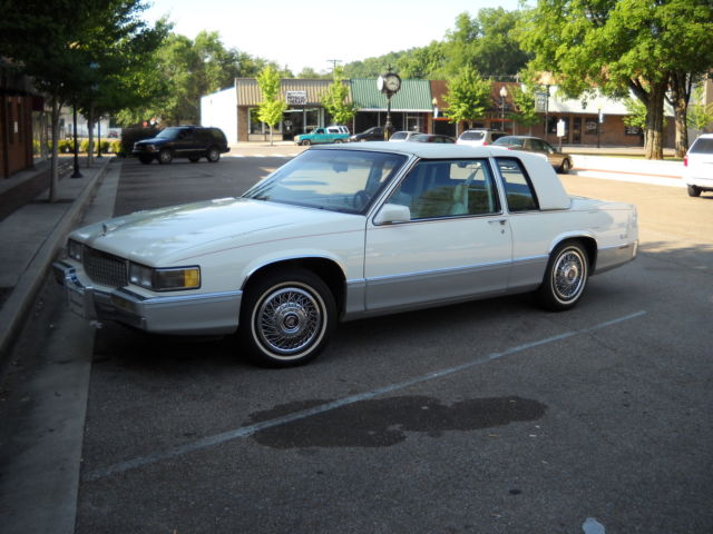 1989 Cadillac DeVille COUPE